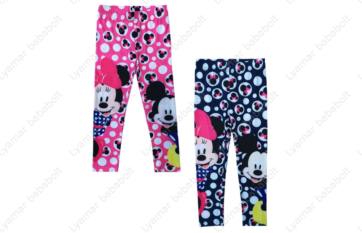 Disney Minnie gyerek mintás leggings. 42506fd624