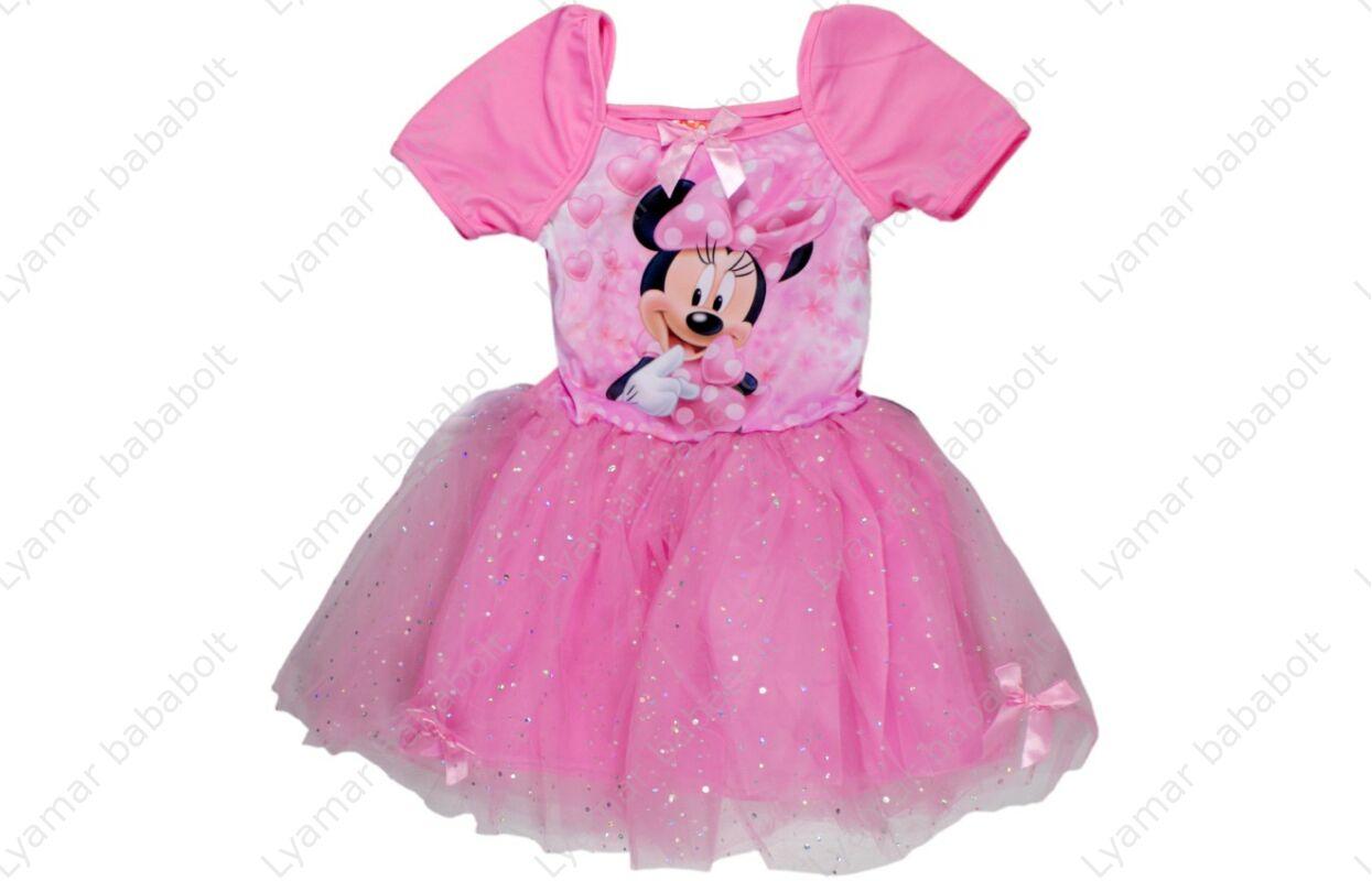 9047567b59 Alkalmi csillámos, tüllös ruha, Disney Minnie (Méret: 98-128)