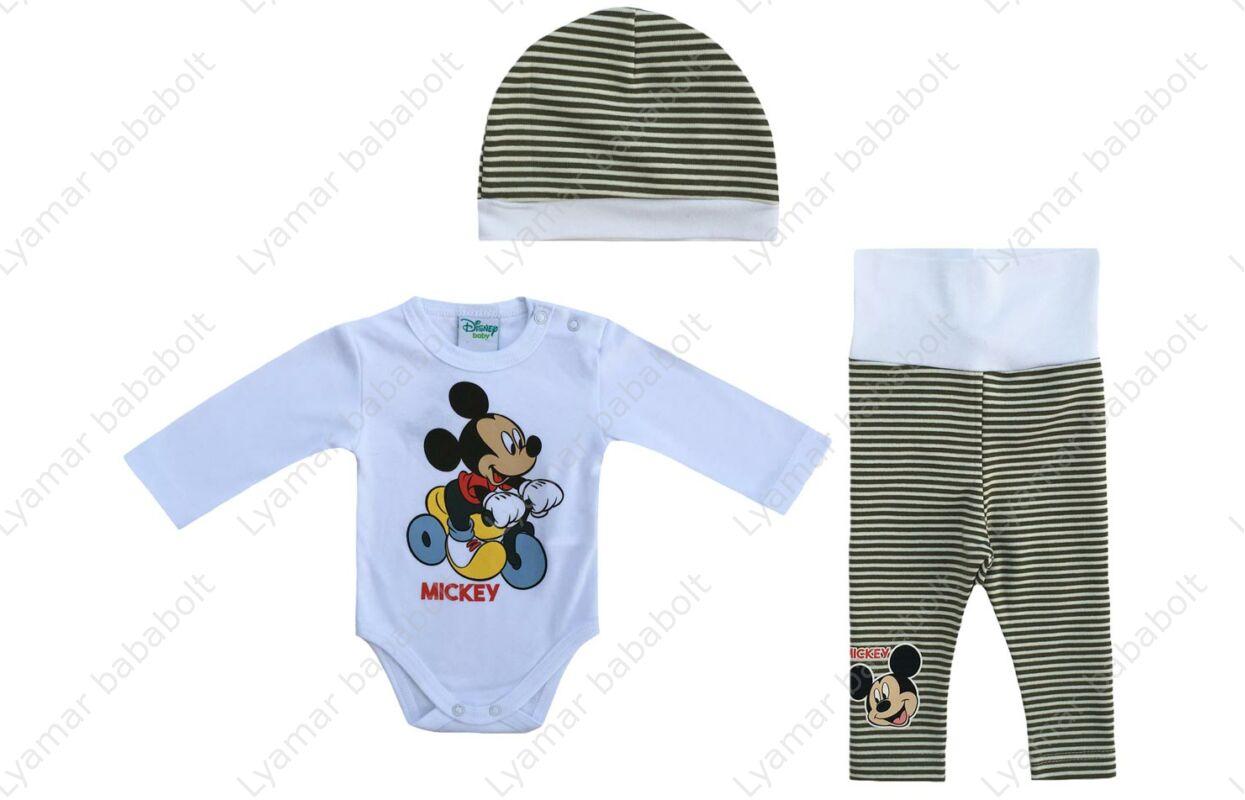 a46342feaf Baba 3 részes szett, Disney Mickey (Méret: 56-80) - Együttes, szett ...