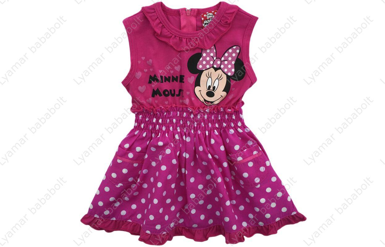 61a4ca63c7 Gyerek alkalmi ruha, pöttyös Disney Minnie (Méret: 74-128)