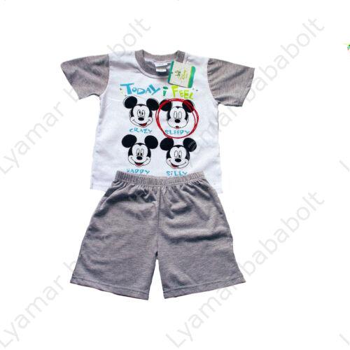 Mickey Mouse fiú együttes (Méret: 92)