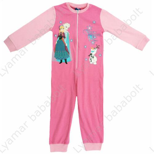 Cipzáros pamut pizsamaoverál Frozen (méret:104)