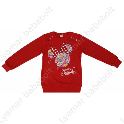 Minnie Mouse hosszú ujjú pamut pulóver (Méret:128-158)
