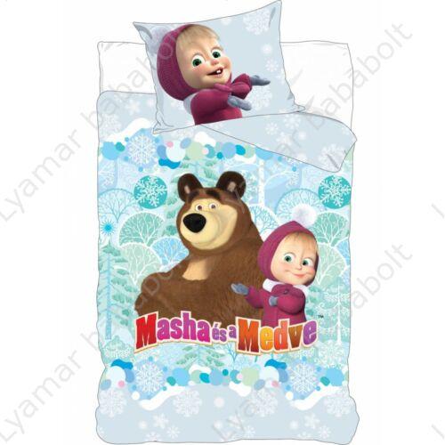 gyerek-agynemu-huzat-masha-medve