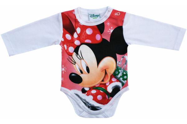 Hosszú ujjú karácsonyi body Disney Minnie (Méret  56-80) e214391f05
